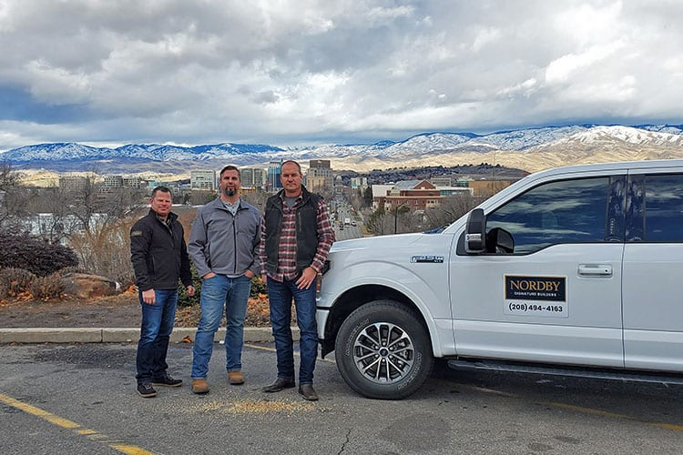 Nordby Signature Builders team